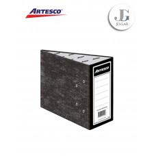 Archivador Plastificado Medio Oficio 1/2 Lomo Ancho  - Artesco