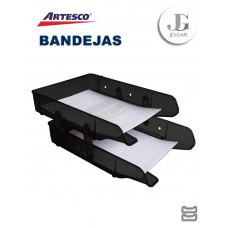 Bandeja Portapapel Premium x 2 Pisos - Artesco