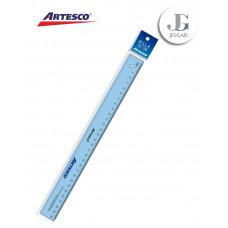 Regla Cristal X 30cm ARTESCO