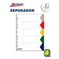 Separadores Index A4 X 5 ARTESCO