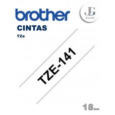 Cinta para Etiquetas TZe141 Brother