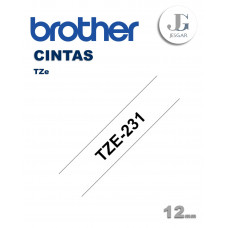 Cinta para Etiquetas TZe231 Brother