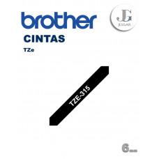 Cinta para Etiquetas TZe315 Brother