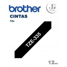 Cinta para Etiquetas TZe335 Brother