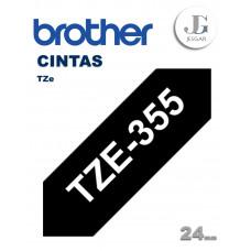 Cinta para Etiquetas TZe355 Brother