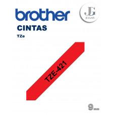 Cinta para Etiquetas TZe421 Brother