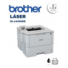 Impresora LASER B/N Brother HL-L6400DW