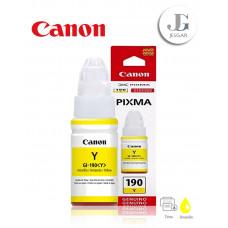 Tinta CANON GI-190BY Yellow Amarillo 70ml G1100 G2100 G3100