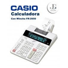 Calculadora con Wincha Contómetro FR-2650RC  Casio