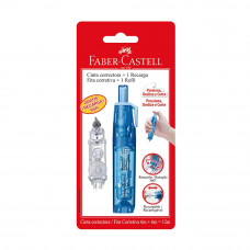 Cinta Correctora Retractil + Rep - Faber Castell