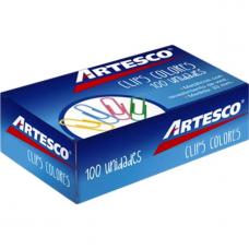 Clips Colores x 100 - Artesco