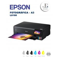EPSON L8180 EcoTank® Fotográfica A3 Multifuncional Inyección de tinta, inalámbrica, copia y escanea