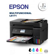 Epson L6171 EcoTank Impresora Multifuncional inalámbrica a color con ADF