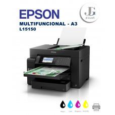 Impresora EPSON Multifuncional A3 Color L15150 Ecotank