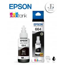 Tinta EPSON 664 Ecotank Black Negro T664120-AL