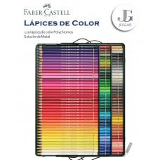 Lápices de Color Polycromos Estuche Metal x120 FABER CASTELL