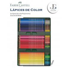 Lápices de Color Polycromos Estuche Metal x60  - FABER CASTELL