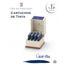 Cartuchos de Tinta Azul Cobalto Blue Cobalt 0.86 ml Graf Von Faber-Castell