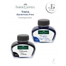 Tintero grande escritura fina 62,5 ml negro y azul real – FABER CASTELL