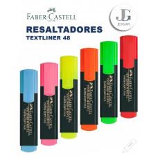 Plumón Resaltador Textliner 48 Colores Varios Faber-Castell
