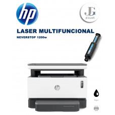 Impresora HP Laser Neverstop Multifuncional B/N 1200w