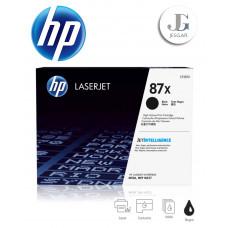 Toner HP 87X Black Negro CF287X Alto Rendimiento LaserJet Enterprise M506 MFP M527 Original