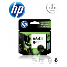 Tinta HP 664XL Black Negro Deskjet 1110 1115 2130  2135 3630 ENVY 4520 OfficeJet 3830 F6V31AL