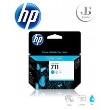 Tinta HP DesignJet 711 Cyan Cian 29 ml T120 T520 CZ130A