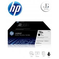 Toner HP 78A Dual Pack Black Negro CE278D P1566 P1606 M1536
