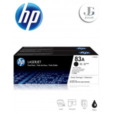 Toner HP 83A Dual Pack Black Negro CF283AD MFP M125 M127 M201 M225