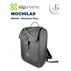 "Mochila Laptop 14.1"" Gallant Business Gray KlipXtreme"