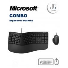 Combo Teclado Mouse Escritorio Ergonómico Ergonomic Desktop Microsoft