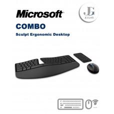 Combo Teclado y Mouse Ergonómico Sculpt Ergonomic Desktop Microsoft
