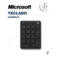Teclado numérico Microsoft Black