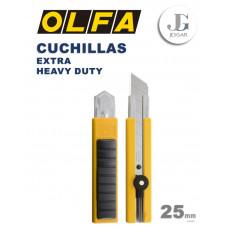 Cuchilla Extra Heavy Duty H1 25mm - Olfa