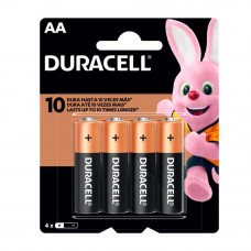 Pilas AA x 4 - Duracell