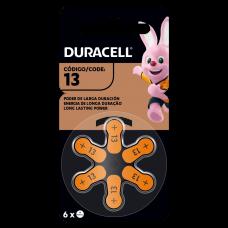 Pilas Hearing Aid 13 x 6 - Duracell