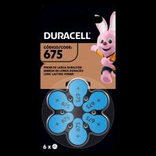 Pilas Hearing Aid 675 x 6 - Duracell