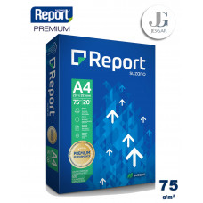 Papel Bond A4 75 grs Paquete x 500 - Report