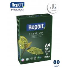 Papel Bond A4 80 grs Paquete x 500 - Report