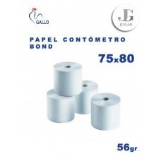 Contómetro Bond 56 gr 75 x 80 x 0.13 - Gallo