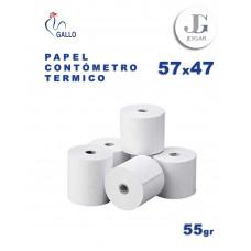 Contómetro Térmico 55 grs 57 x 74 POS - Gallo
