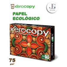 Papel Bond A4 75 gr Kerocopy ecológico Fotocopia Hojas  Paquete x 500