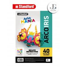Block Arco Iris A4 x40 Hojas- Standford
