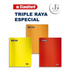 Cuaderno Triple Raya Especial Junior x 80 hojas - Standford