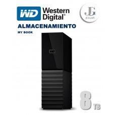 Disco duro externo My Book 8 TB USB Western Digital