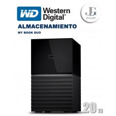 Disco duro externo My Book DUO 20 TB USB Western Digital