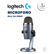 Micrófono USB Grabación y transmisión Blue Yeti NANO LOGITECH